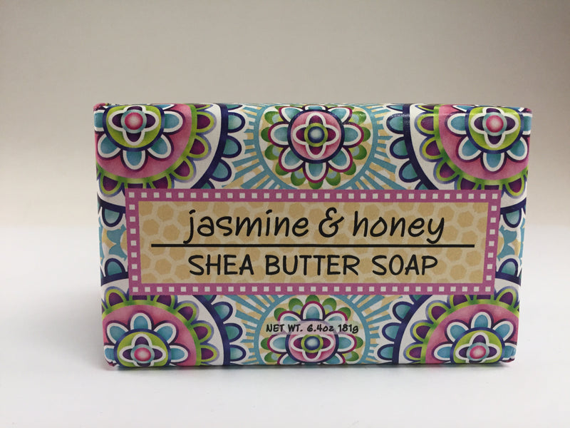 Greenwich Bay Soap - Jasmine & Honey (6.4 oz) 1 Bar