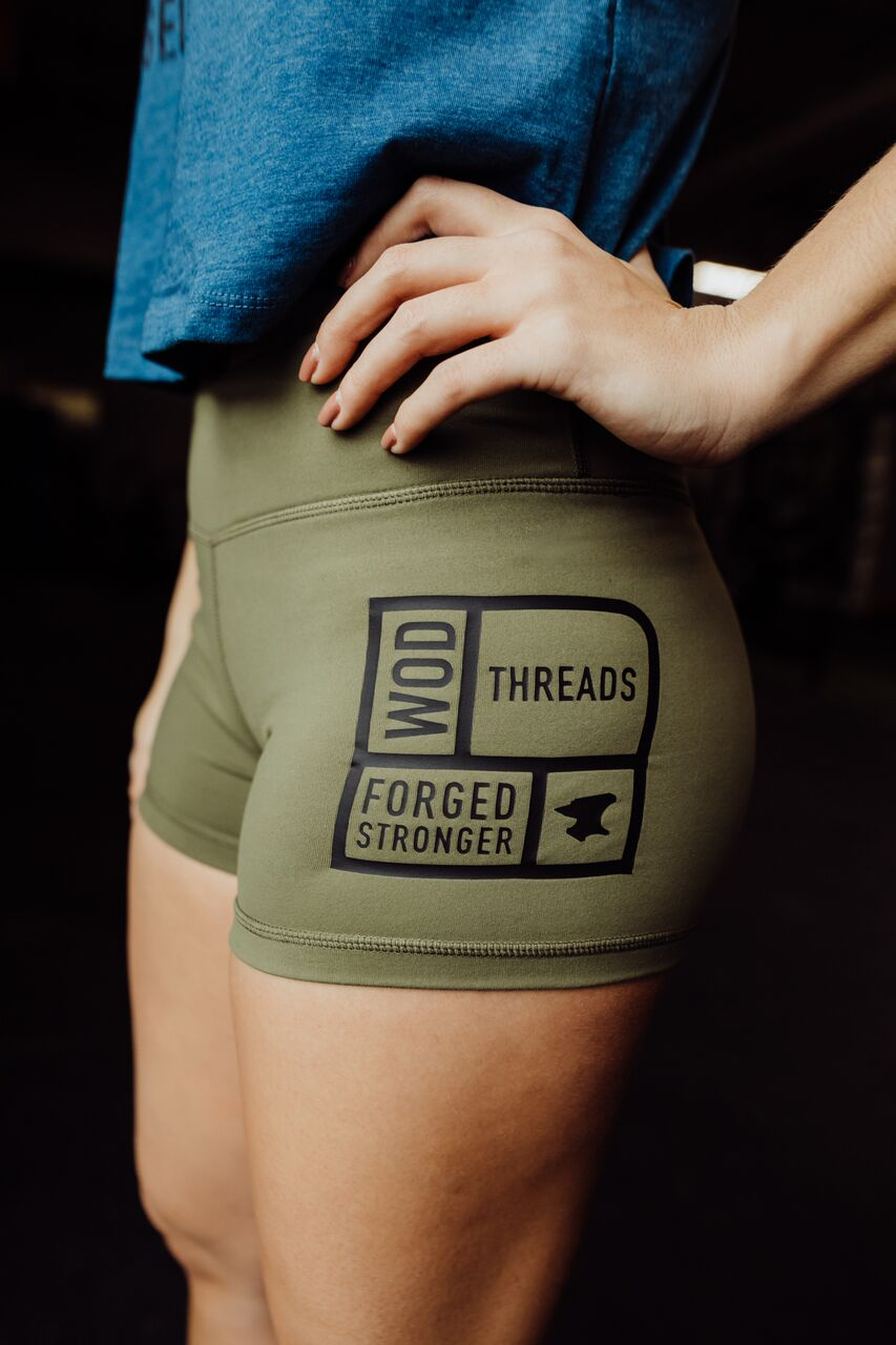 Booty Short Military Green