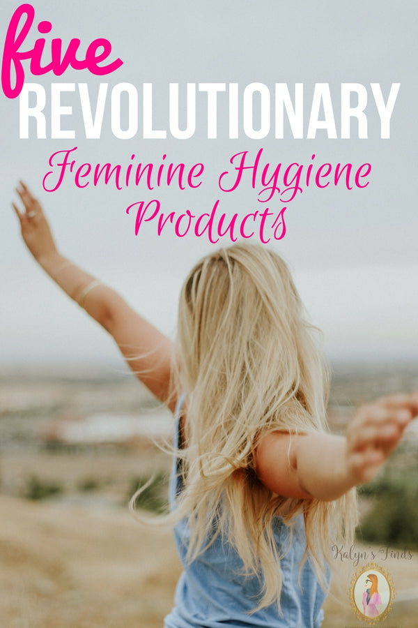 5 Revolutionary Eco-friendly Feminine Hygiene Products.