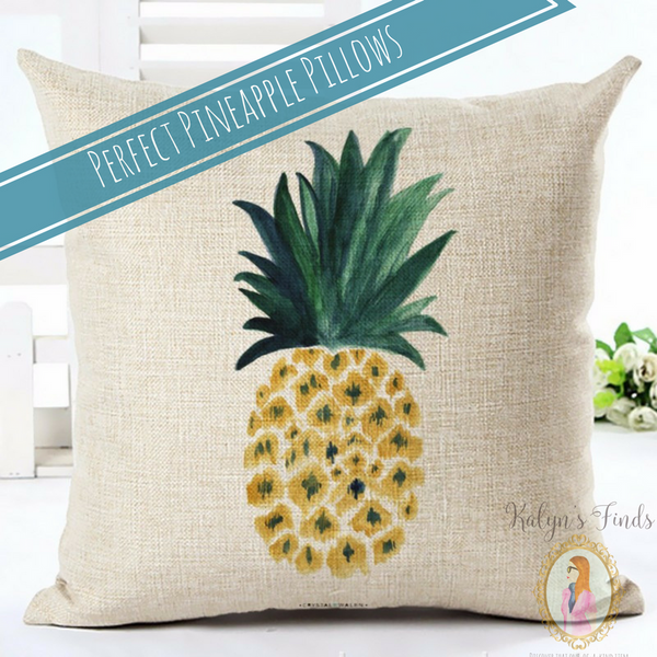 Perfect Pineapple Pillow Covers!