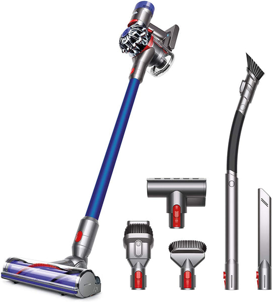 Dyson V7 Animal Pro+ Cordless Vacuum Cleaner-Extra Tools for Homes with Pets, Rechargeable, Lightweight, Powerful Suction, V7 Animal Pro +, Blue