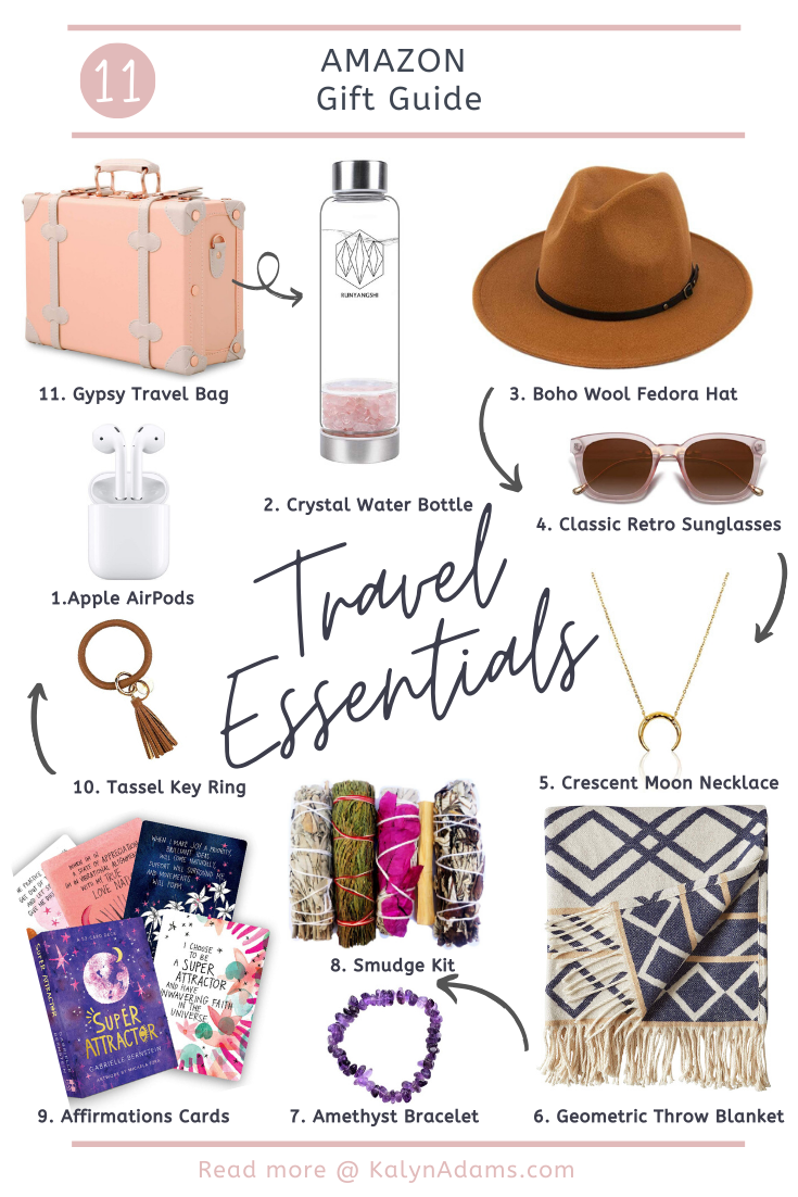 Travel Essentials on Amazon