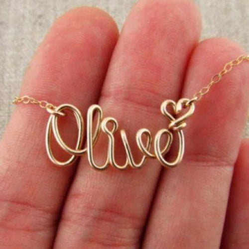Perfectly Personalized Handmade Necklace - Kalyn's Finds