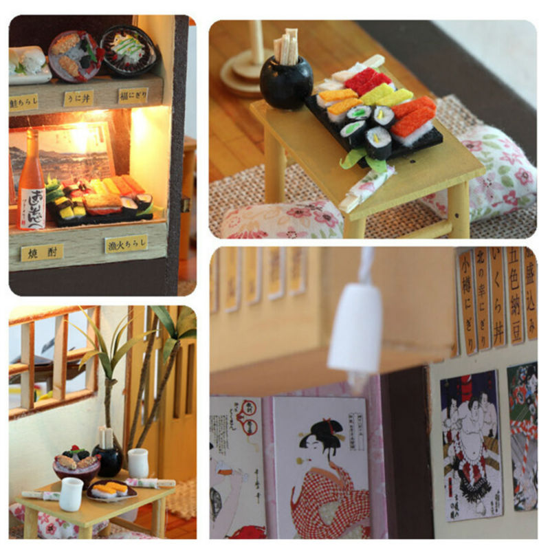 DIY Japanese Zakka Style Sakura Restaurant Sushi Bar - Kalyn's Finds