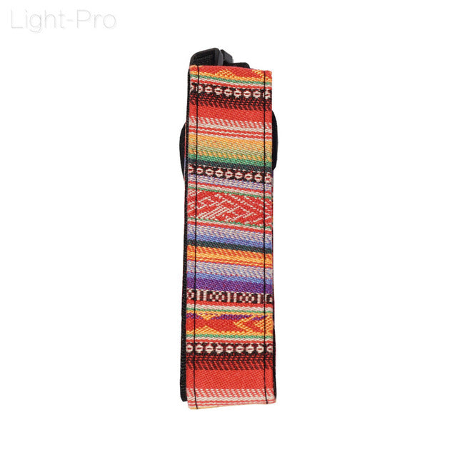 Colorful Camera Shoulder Strap - Kalyn's Finds