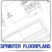 Sprinter Van Floorplans