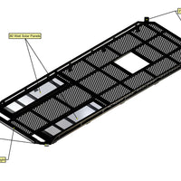 "07+ Sprinter Van Aluminium Roof Rack - 170"" WB"