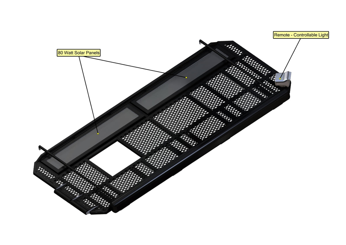 "07+ Sprinter Van Aluminum Roof Rack - 144""WB"