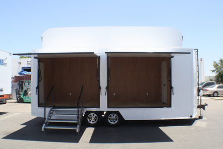 Matix Clothing 23' V-Nose Display Trailer