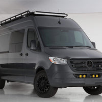 2019+ Sprinter Van Front Light Bar - 2 Baja Designs Squadron Light Kit