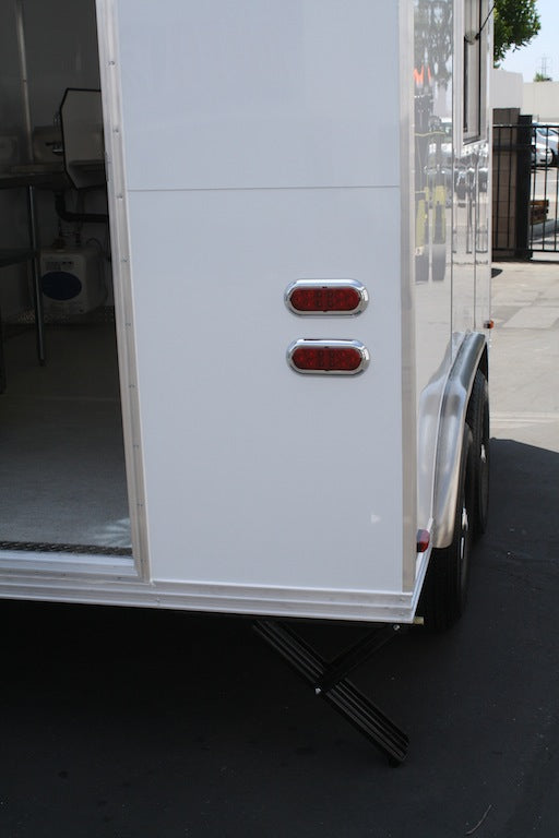 12' Concession Trailer - Waffle Machine