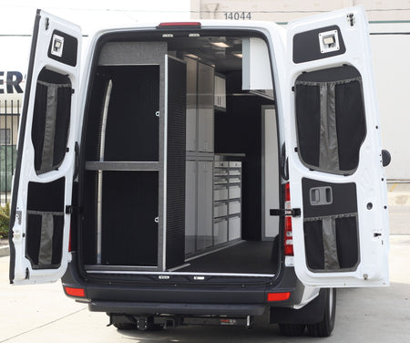 07+ Sprinter Van Rear Door Stuff Bag Complete Kit