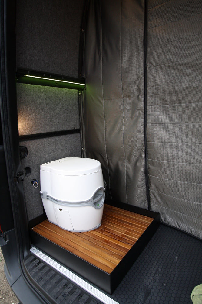 "07+ Sprinter Van Removable Shower Pan 170""WB"