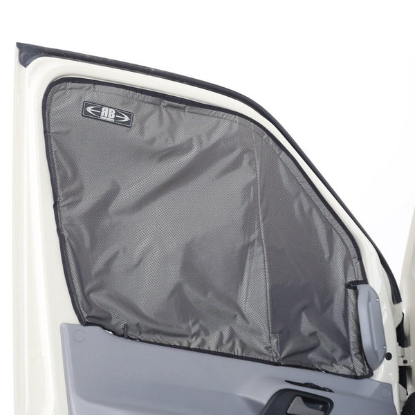 2019 + Sprinter Van Fabric - Magnetic Front Door Window Shade Kit