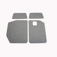 2019 + Sprinter Van Upolstered Rear Door Panels Upper & Lower Kit