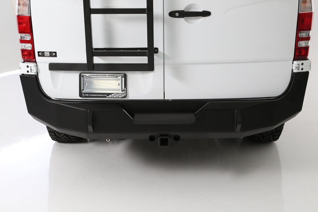 07+ Sprinter Van HD Rear Door Ladder - High Roof