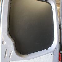 2007+ Sprinter Van Rear Door Window Panel Kit Black