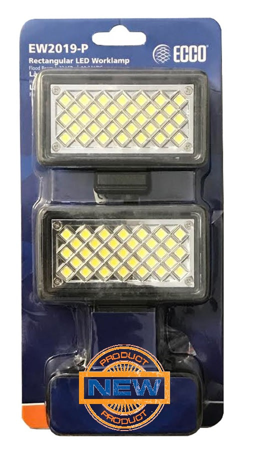 LED Flood Light 2-Pack, Low Profile