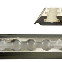 "Aluminum Medium Duty L-Track - 100"" Length"