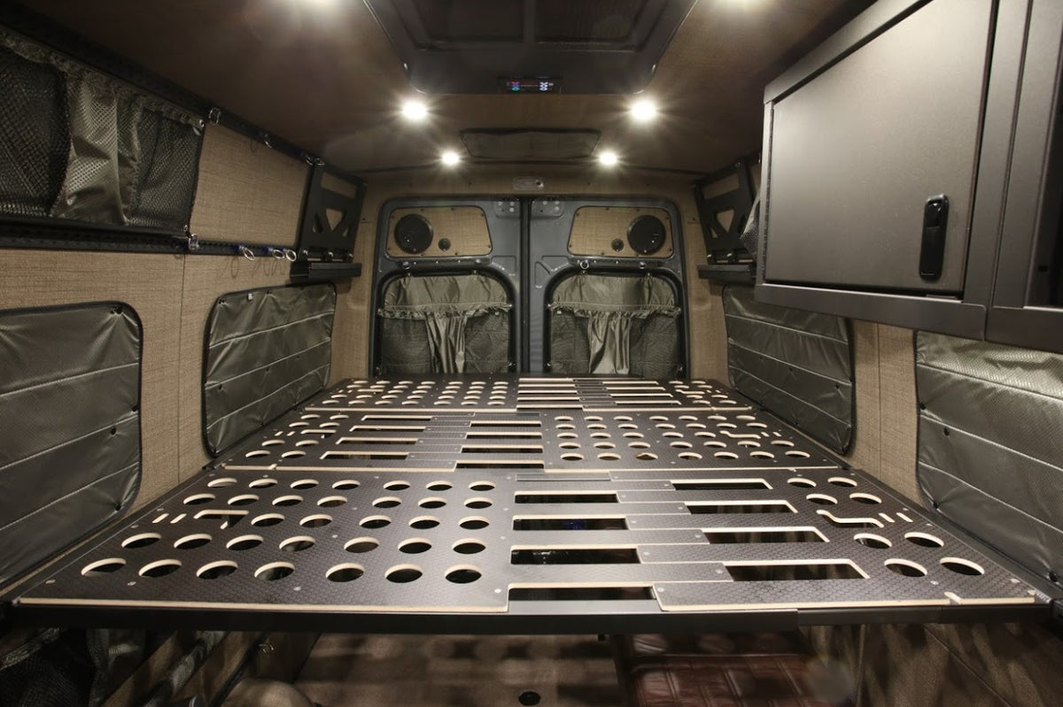 170 EXT Sprinter Van Adj Panel Bed Kit