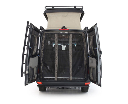 07 + Sprinter Van Fabric - Low Roof Rear Door Bug Net
