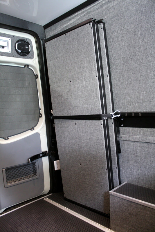"07+ Sprinter Van Panel Bed, 170"" WB Ext, 36"" H"