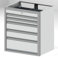 "Tool Box Cabinets Option 3 - 36""H x 24""D x 32""W, 2-3"", 2-6"", 1-9"" Drawers"