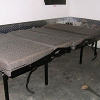 "Dinette/Sleeper, 38"" - Charcoal Cloth"