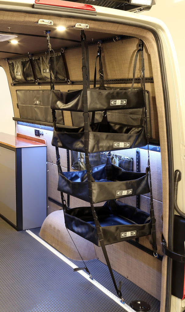 2007 Sprinter Van Fabric 75 Quot H Adjustable Hanging Shelf