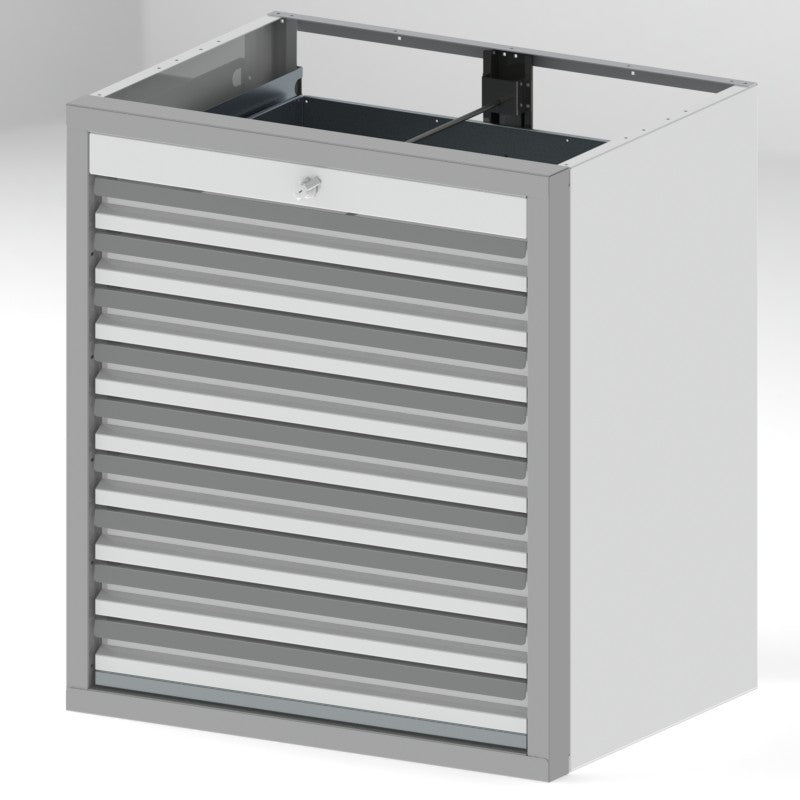 "Tool Box Cabinet Option 1 - 36""H x 24""D x 32""W, 9- 3"" Drawers"