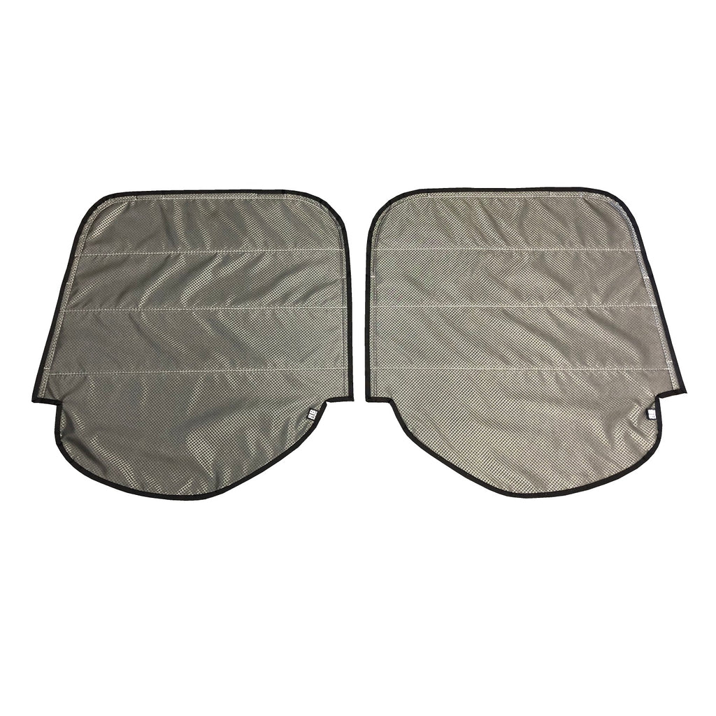 2019+ Sprinter Van Fabric - DS/PS Magnetic Reard Door Window Shade for Lower Plastic Trim Windows