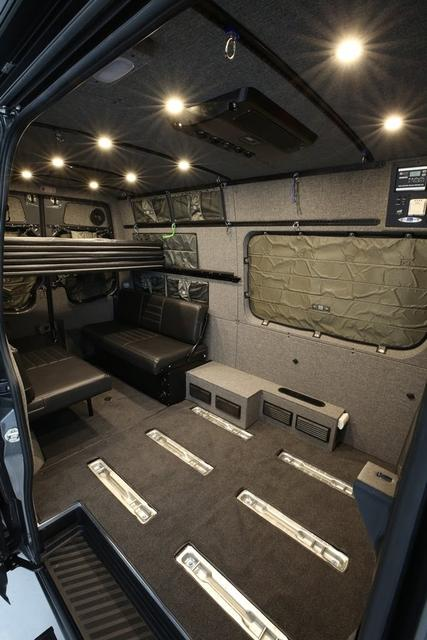 "2007 + Sprinter Van Wall Liner Kit 144"" High Roof, Upholstered (no upper cabinets)"