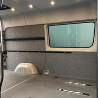 "2007+Sprinter Van Wall Liner Kit, 144"" High Crew Van, Upholstered"