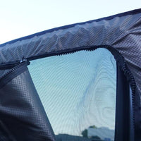 2007-2018 Sprinter Van Front Door Window Sun Shade w/Zipper Bug Net Set