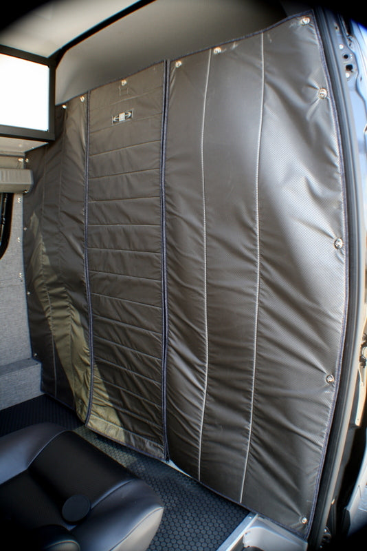 07 Sprinter Van Fabric Headliner Shelf Fabric Partition