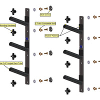 Triple Board Rack - Short