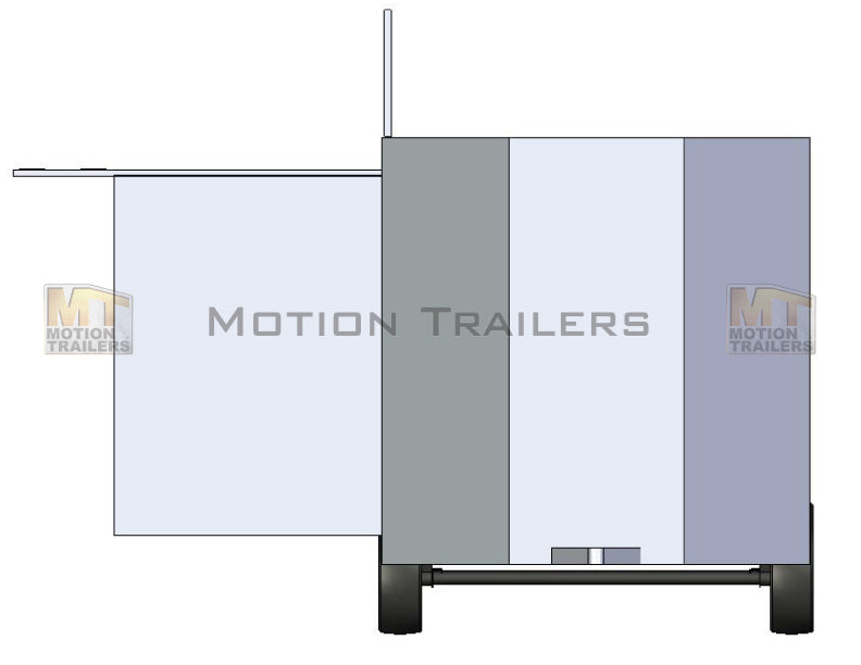 30' Mobile Marketing Trailer 3 Door