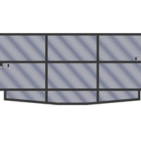 Panel Bed Frame, 36in H - 24in W, Extension