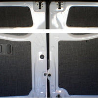 2007+ Sprinter Van Rear Door Panel Kit, Uppers & Lowers
