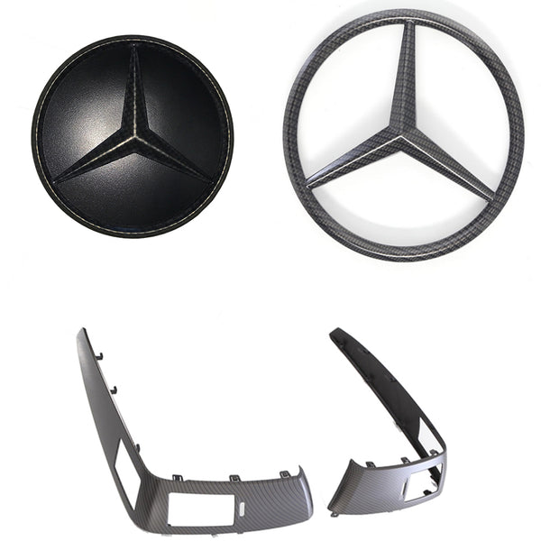 2014-2018 / Sprinter Carbon Fiber Emblem Trim Kit - 4 Pc