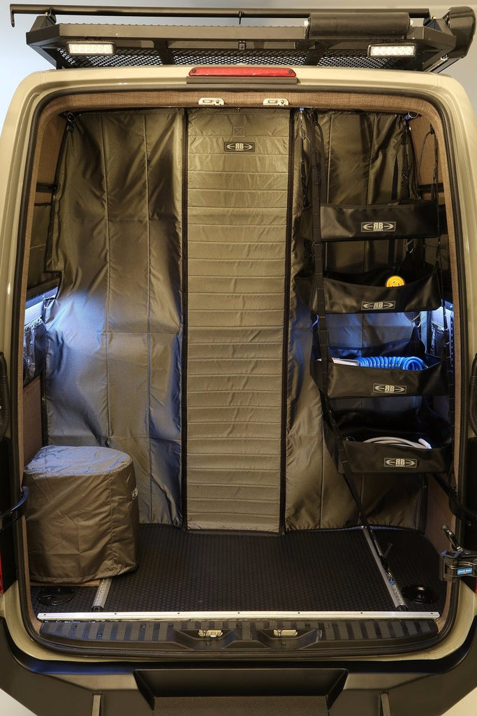 07 Sprinter Van Fabric Partition Low Roof Rb Components