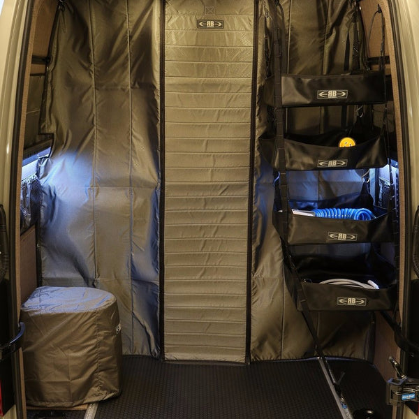 07+ Sprinter Van Fabric Partition Low Roof