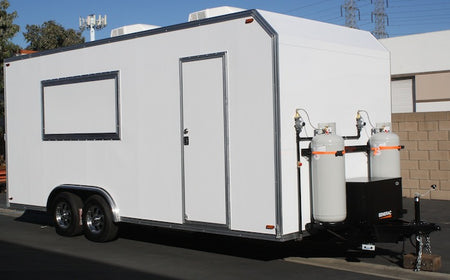 20' Concession Kitchen Trailer