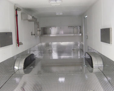 24' Race Trailer Diamond Plate