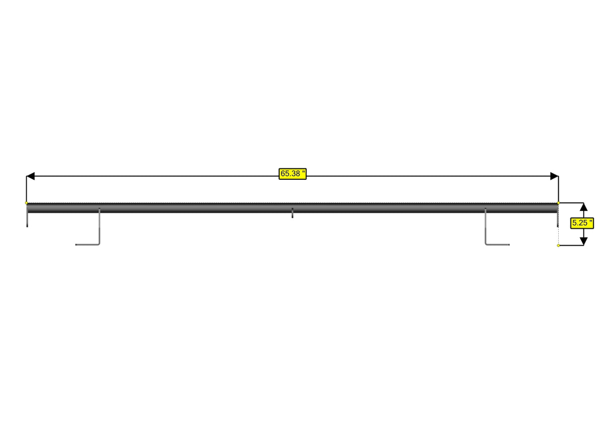 Sprinter Roof Bar - High Roof - Standard