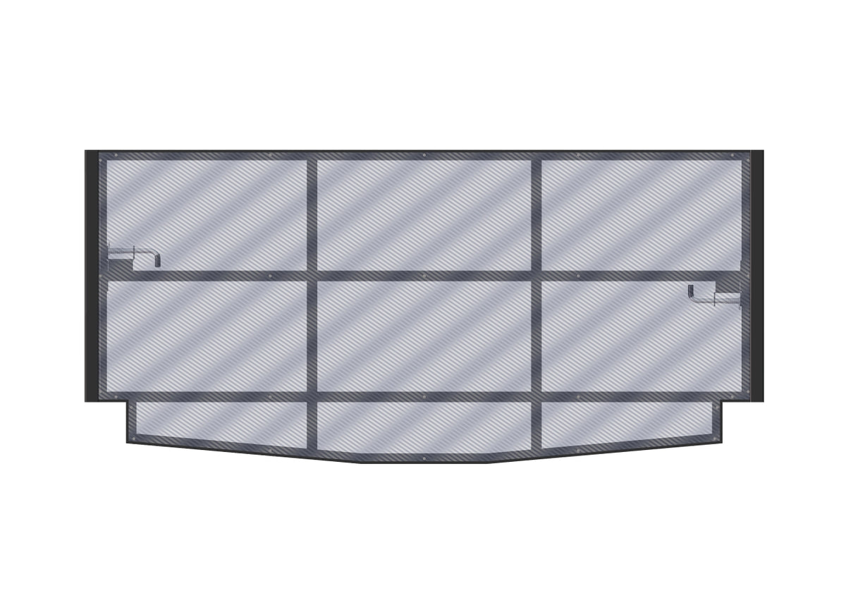 Panel Bed Frame, 45in H - 24in W, Extension