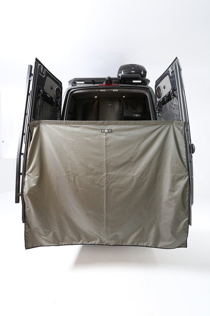 07+ Sprinter Van Fabric - Rear Privacy Cover Single Layer