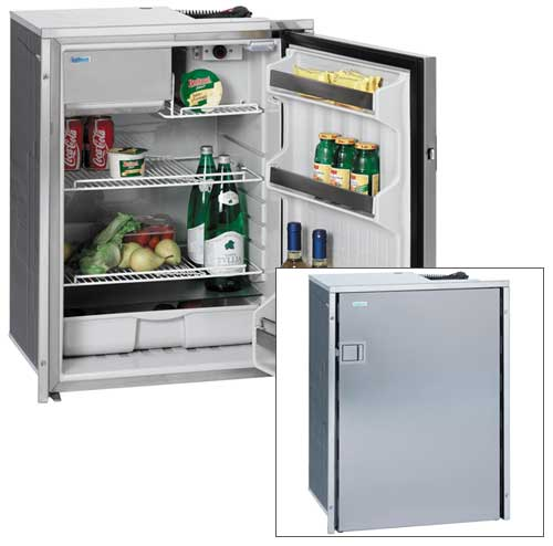 Isotherm, Cruise 130 Refrigerator 4.6 cu ft, AC/DC Stainless Steel