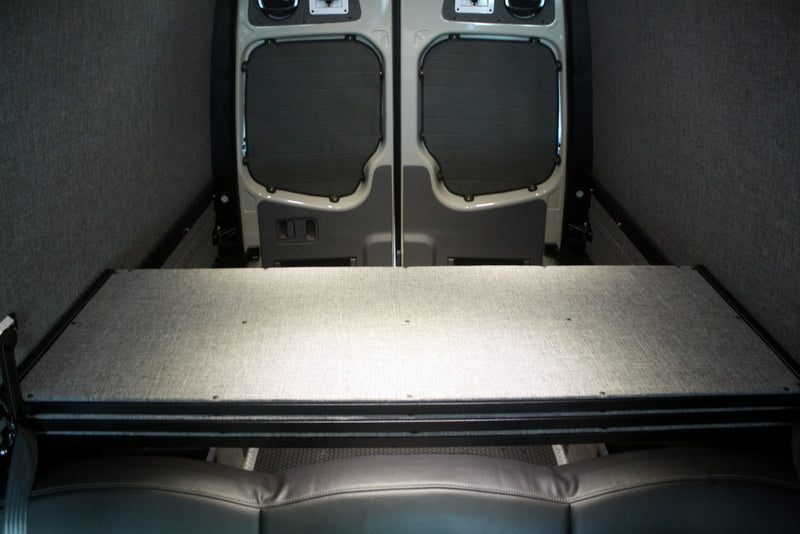 "2007+ Sprinter Van Panel Bed, 170""WB Ext"