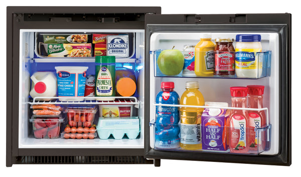 Norcold Refrigerator - NR751 AC DC Fridge 2.7 CU ft - Black